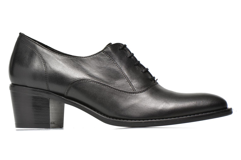 Chaussures à lacets Georgia Rose Daporo Noir vue derrière