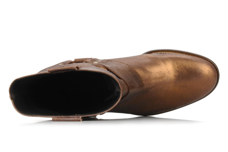 Bottines et boots Georgia Rose Dasine Or et bronze vue gauche