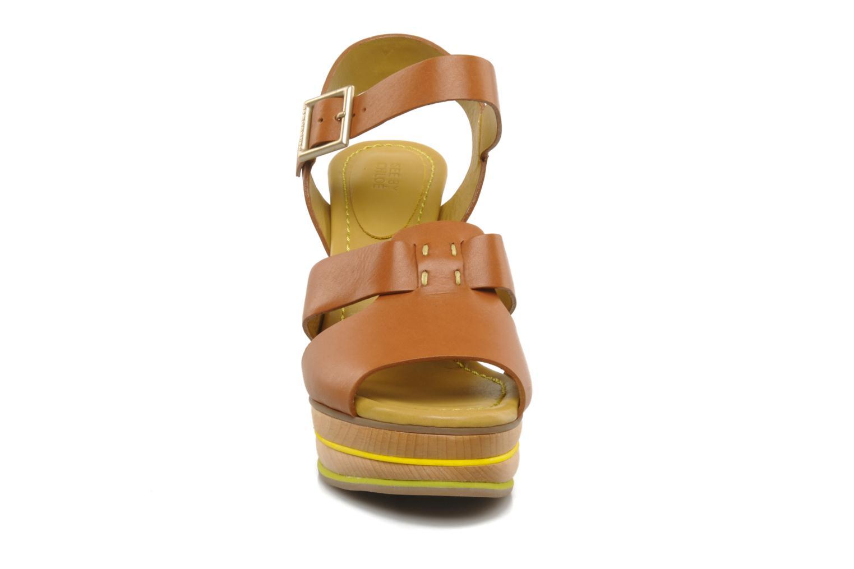 Sandales et nu-pieds See by Chloé Palma Marron vue portées chaussures