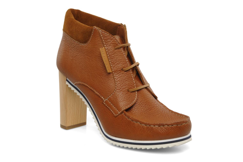 Bottines et boots See by Chloé Gramercy Park Marron vue détail/paire