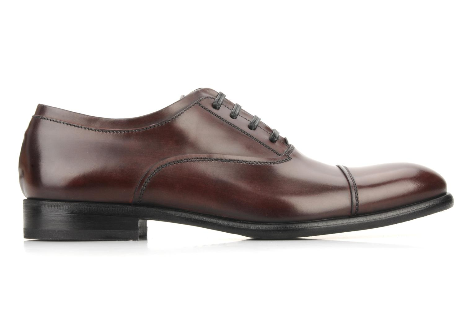 Lace-up shoes Doucal's Pierrot Burgundy back view