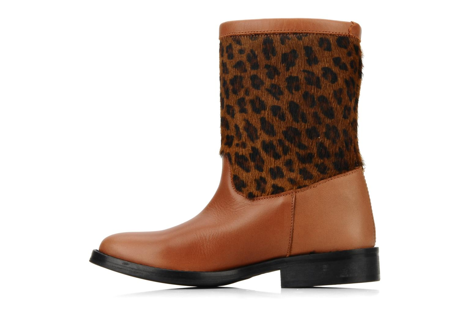 Ankle boots C'Entre Maman & Moi! Stephanie porto Brown front view