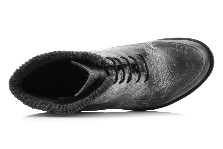 Stiefeletten & Boots Castaluna Mildred L grau ansicht von links