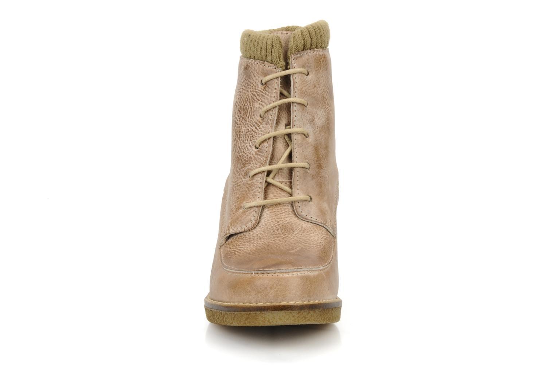 Bottines et boots Castaluna Mildred L Marron vue portées chaussures