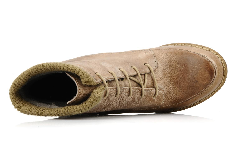 Stiefeletten & Boots Castaluna Mildred L braun ansicht von links