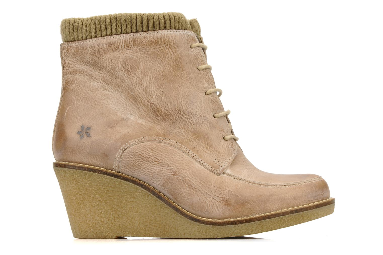Ankle boots Castaluna Mildred XL Beige back view