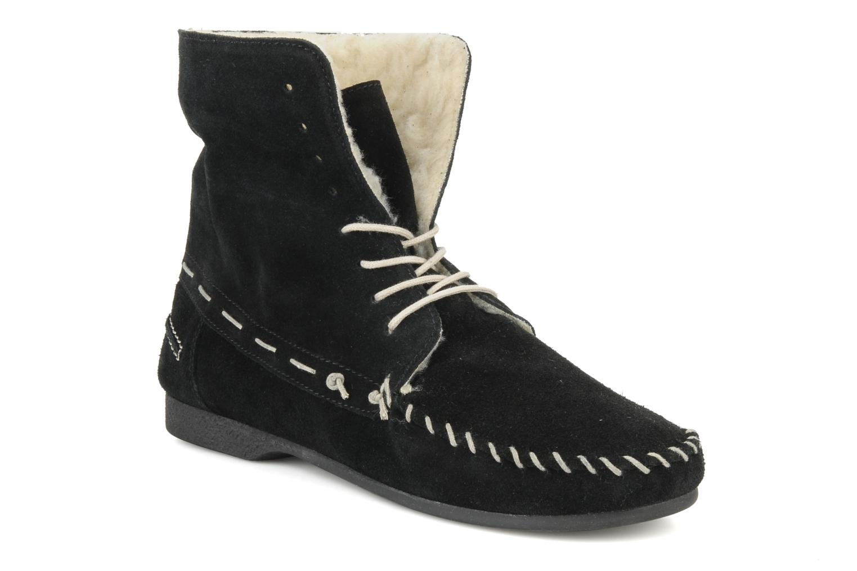 Zapatos con cordones Jonak Babs Negro vista 3/4