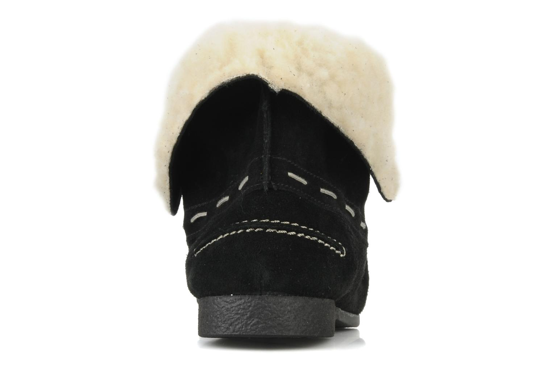 Zapatos con cordones Jonak Babs Negro vista lateral derecha