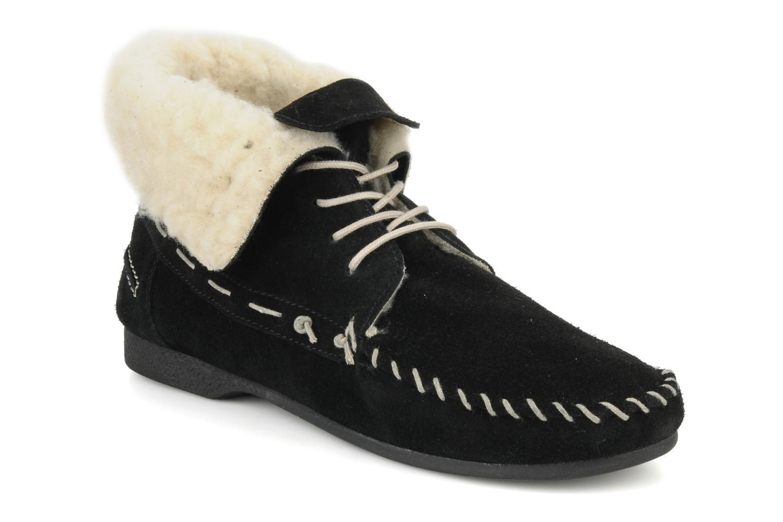 Chaussures à lacets Jonak Babs Noir vue détail/paire