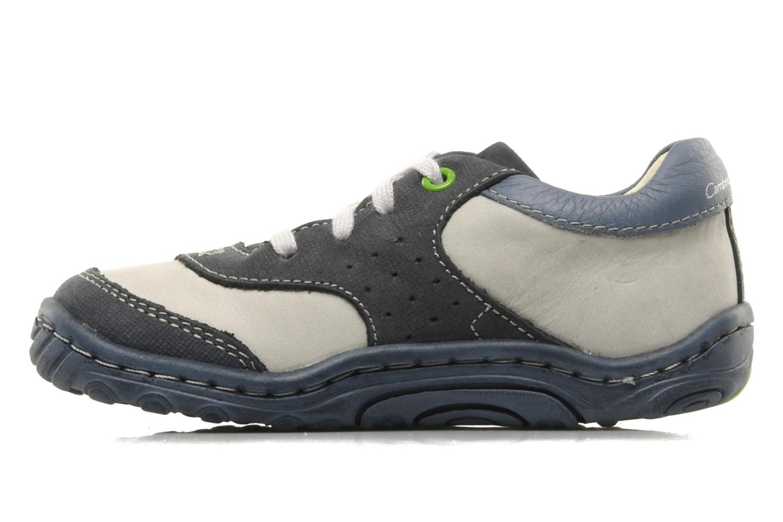 Sneaker Stride Rite CC Charles blau ansicht von vorne