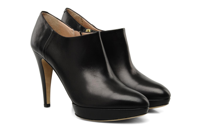Bottines et boots Boss Black Naruki Noir vue 3/4