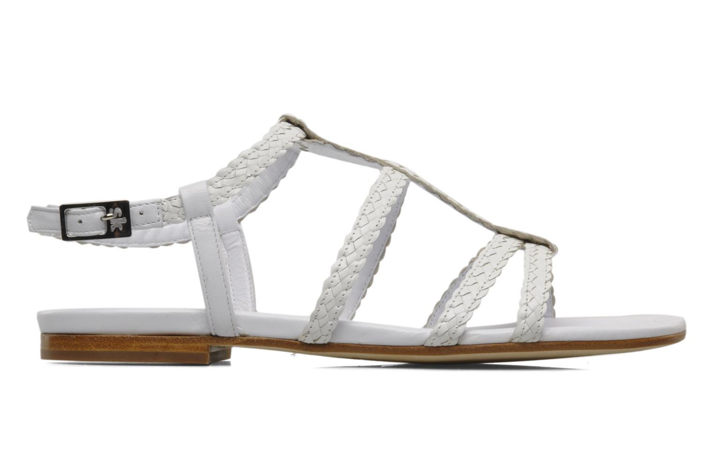 Sandals Stephane Kélian Ifni White back view