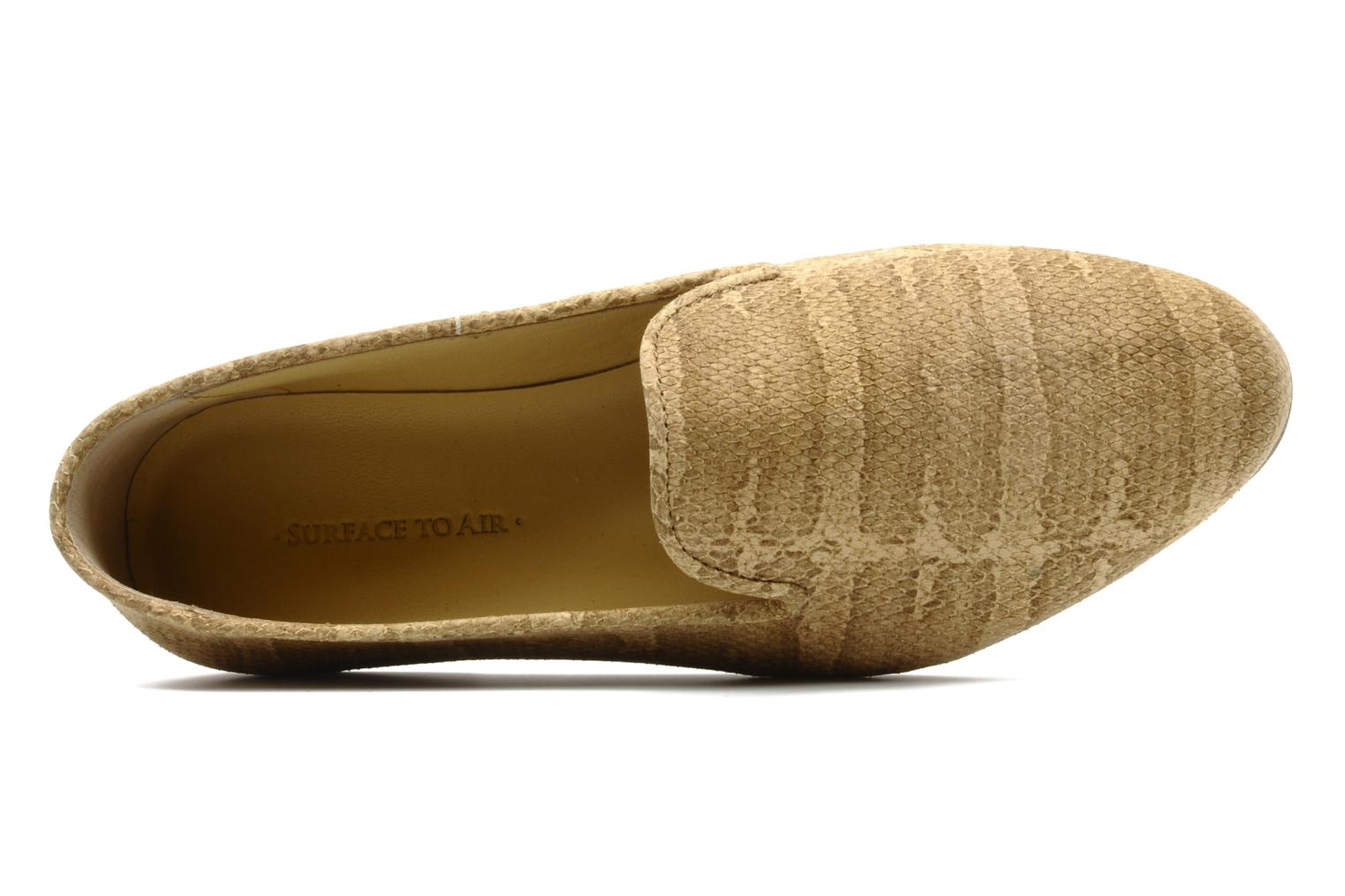 Mocasines Surface To Air Blade slipper Beige vista lateral izquierda