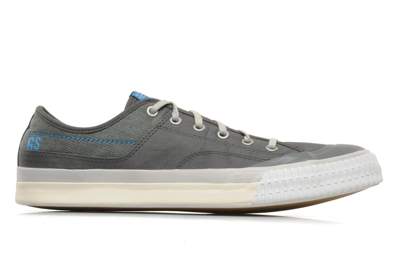Sneaker G-Star Campus Courier Prowl Drill grau ansicht von hinten
