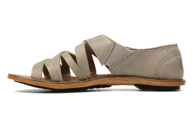 Sandali e scarpe aperte Sorel Lake Shoe Beige immagine frontale