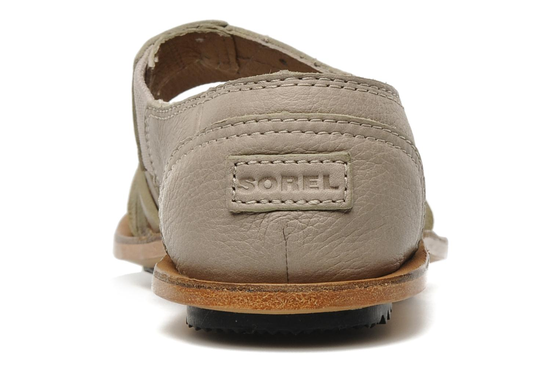 Sandali e scarpe aperte Sorel Lake Shoe Beige immagine destra