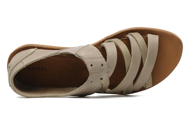 Sandali e scarpe aperte Sorel Lake Shoe Beige immagine sinistra