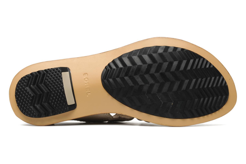 Sandalen Sorel Lake Shoe beige ansicht von oben