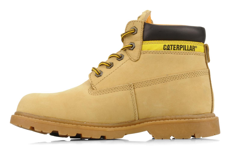 Stiefeletten & Boots Caterpillar Colorado Plus beige ansicht von vorne