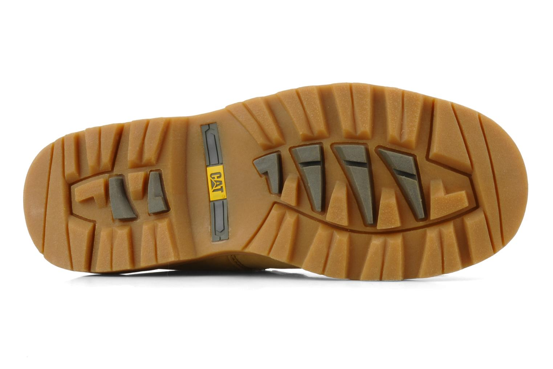 Bottines et boots Caterpillar Colorado Plus Beige vue haut