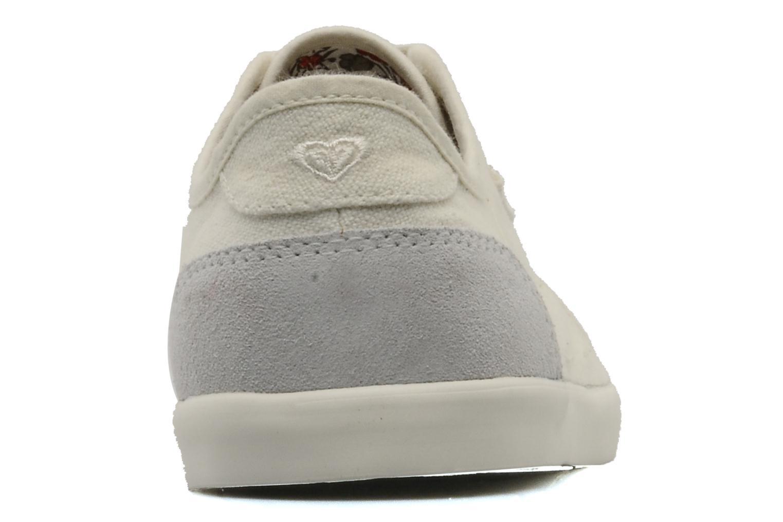 Sneakers Roxy Sneaky Dye 2 Beige Bild från höger sidan