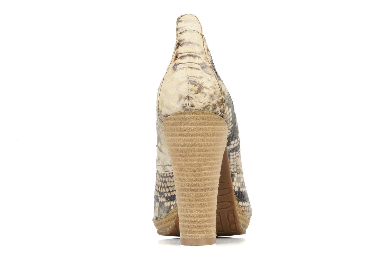 Chaussures à lacets Belmondo Belato Gris vue droite