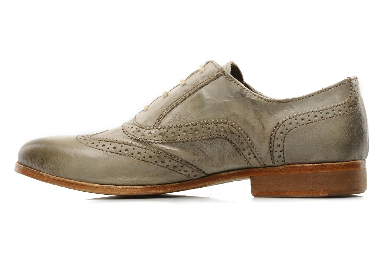 Chaussures à lacets IKKS Carey Gris vue face
