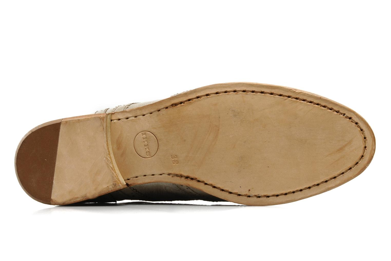 Chaussures à lacets IKKS Carey Gris vue haut