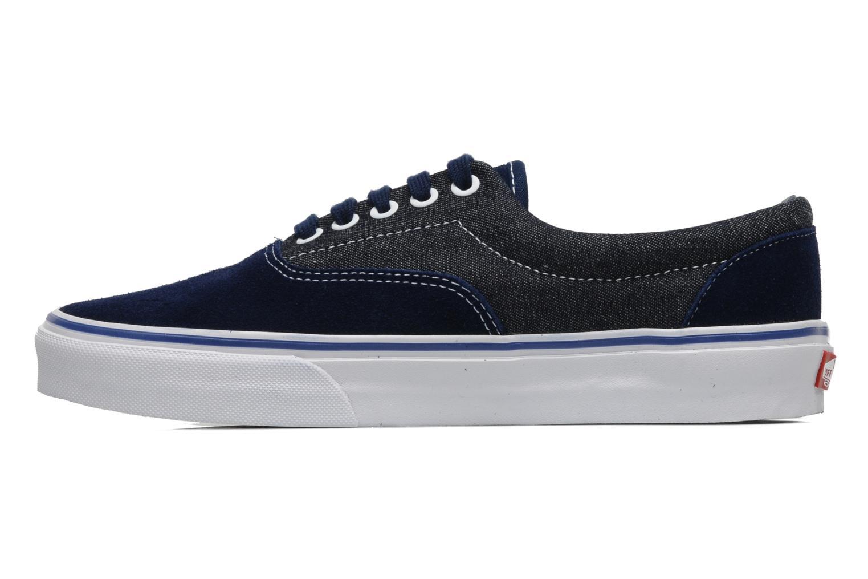(2-Tone Check) Imperial Blue/True White Vans Era (Bleu)