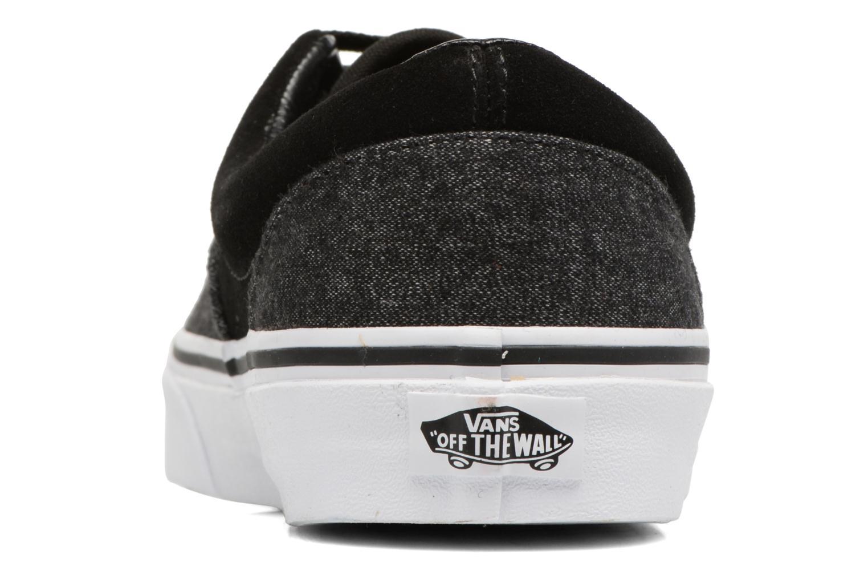 Sneaker Vans Era schwarz ansicht von rechts