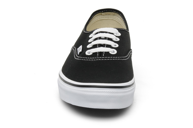 Trainers Vans Authentic w Black model view
