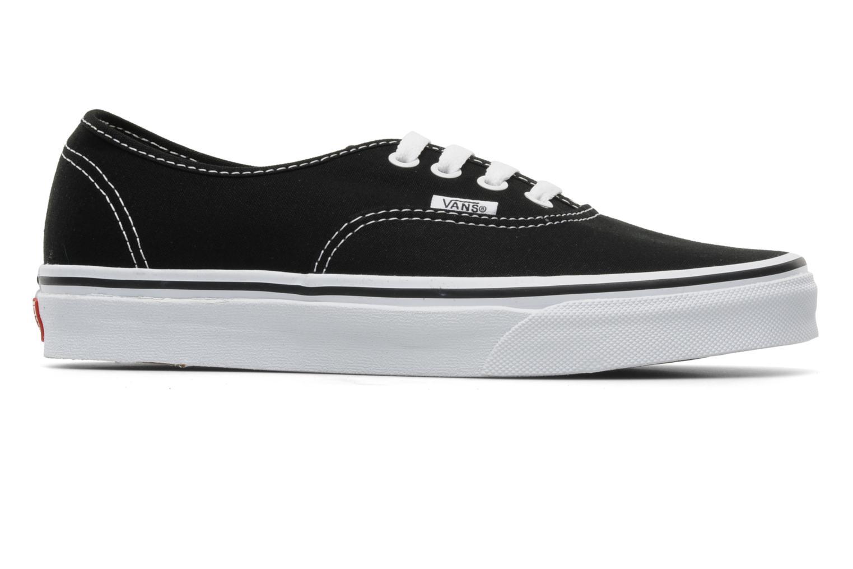 Sneakers Vans Authentic w Zwart achterkant