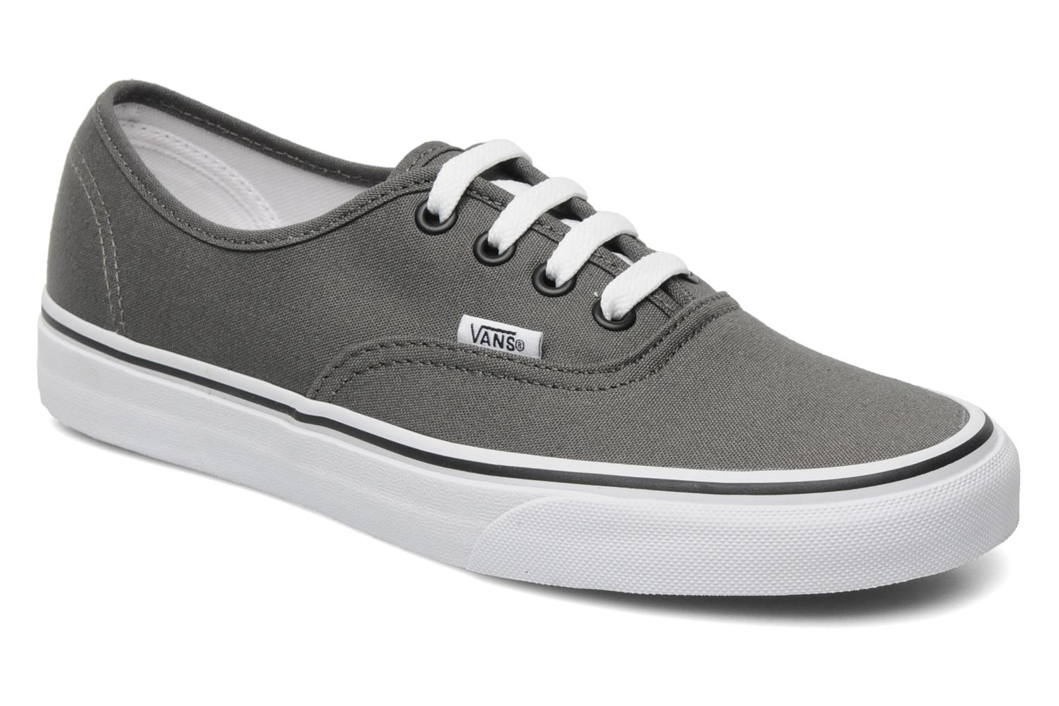 Trainers Vans Authentic w Grey detailed view/ Pair view