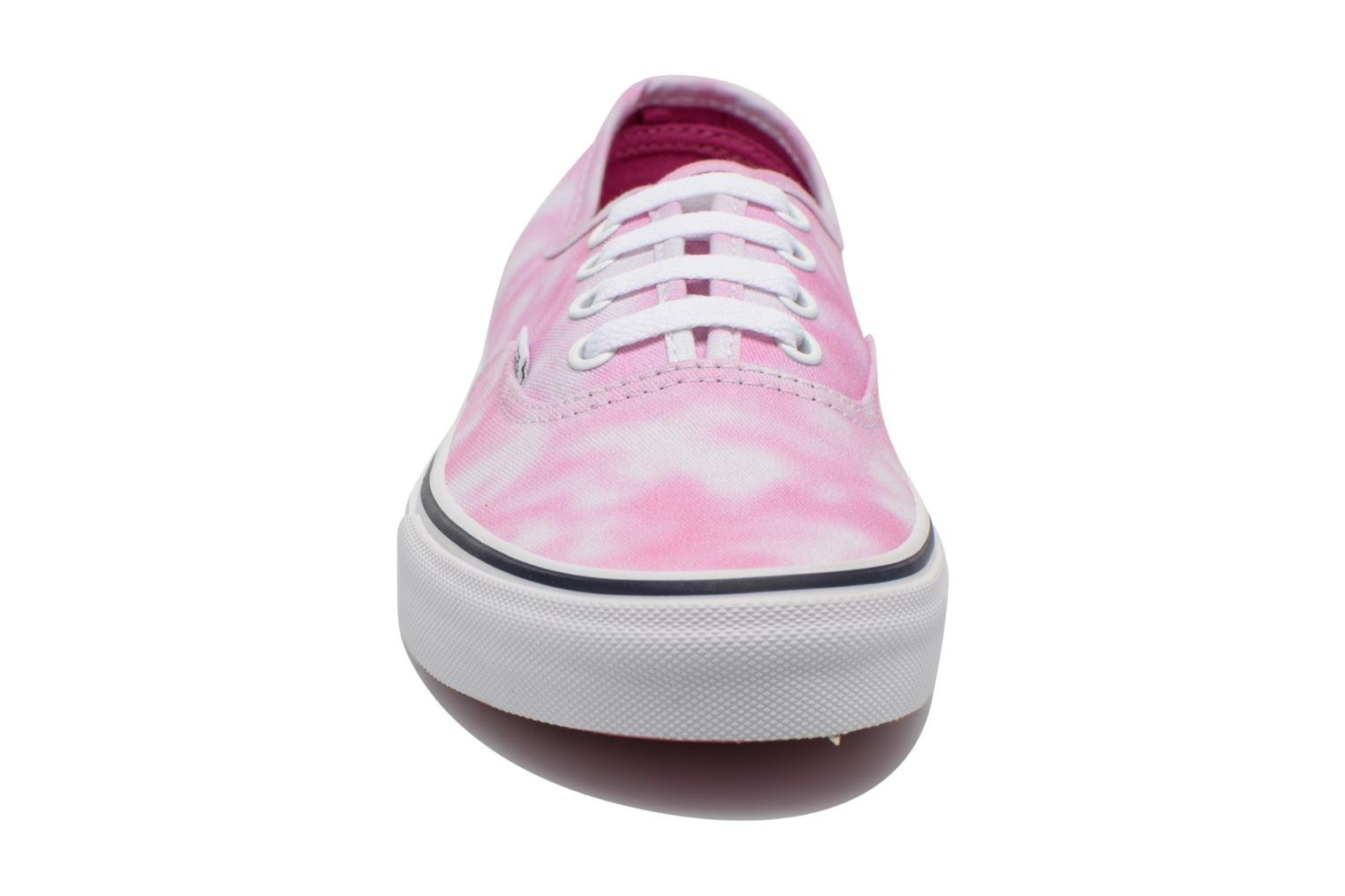Authentic w (Tie Dye) rose violet