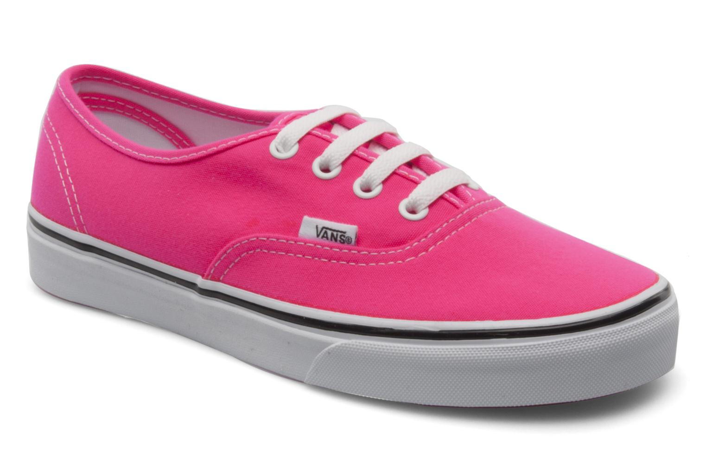 Sneakers Vans Authentic w Roze detail