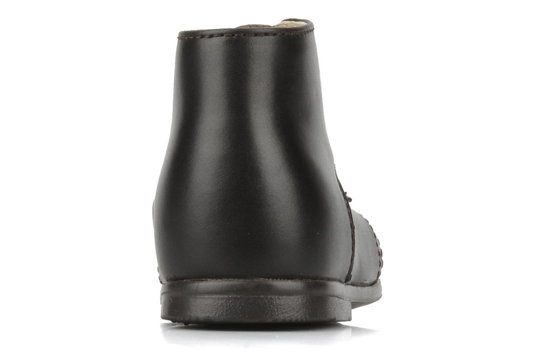 Bottines et boots Rose & Martin Sufolk Marron vue droite