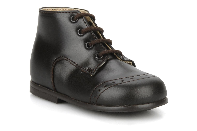 Bottines et boots Rose & Martin Sufolk Marron vue détail/paire