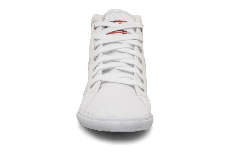 Sneakers U.S Polo Assn. Brooks Bianco modello indossato