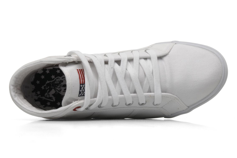 Sneakers U.S Polo Assn. Brooks Bianco immagine sinistra