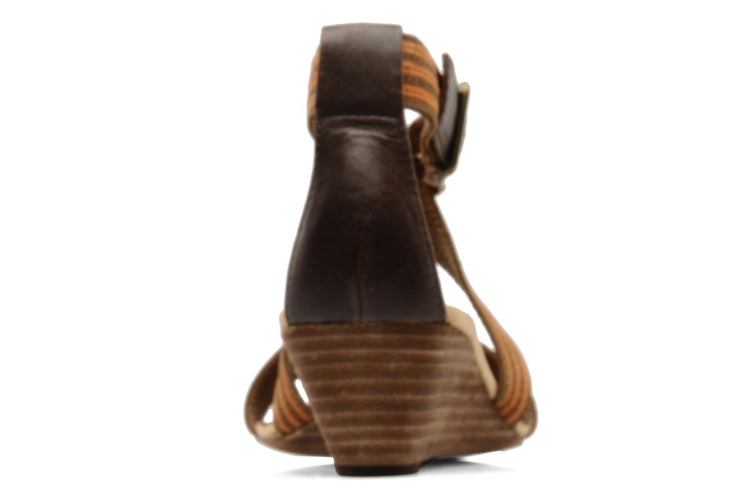 Sandals Marc O'Polo Kella Brown view from the right