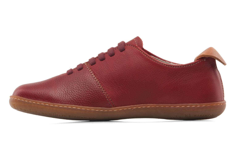 Chaussures à lacets El Naturalista El Viajero N296 W Bordeaux vue face