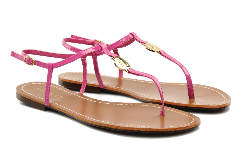 Sandales et nu-pieds Lauren by Ralph Lauren Aimon Violet vue 3/4