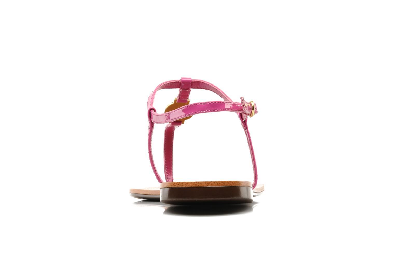Sandales et nu-pieds Lauren by Ralph Lauren Aimon Violet vue droite