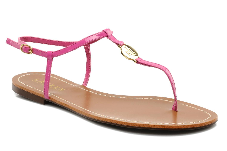 Sandales et nu-pieds Lauren by Ralph Lauren Aimon Violet vue détail/paire