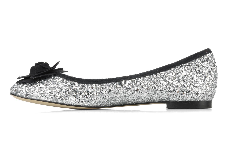 Ballerina's Beyond Skin FLEUR Zilver voorkant