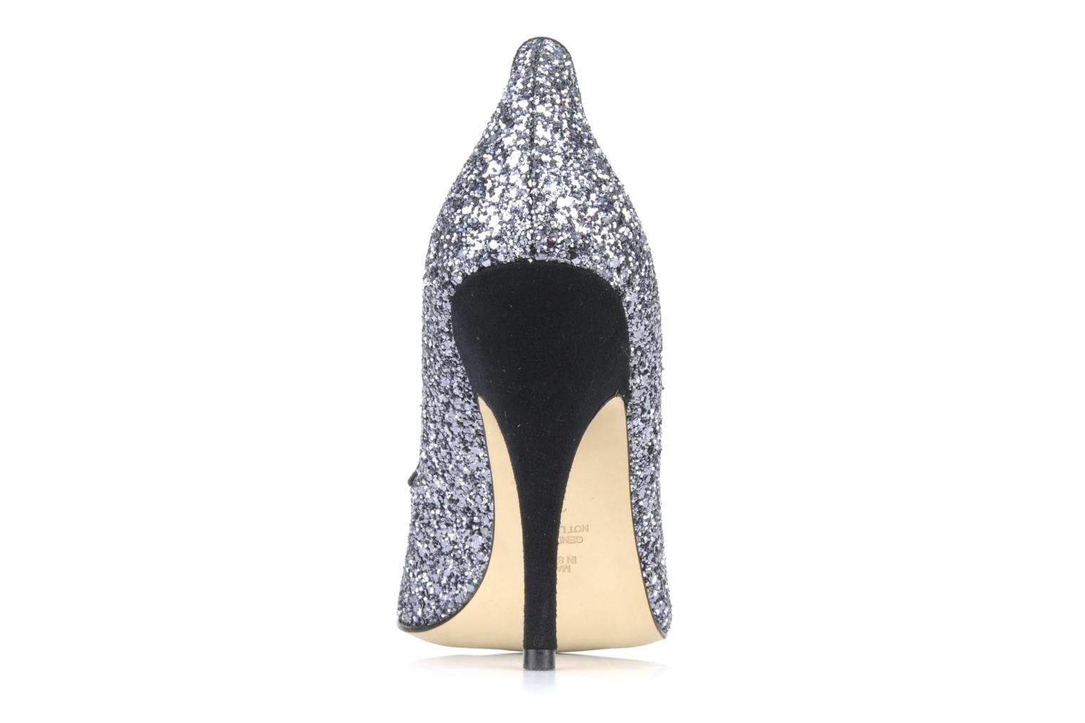 High heels Beyond Skin SWEETIE Silver view from the right
