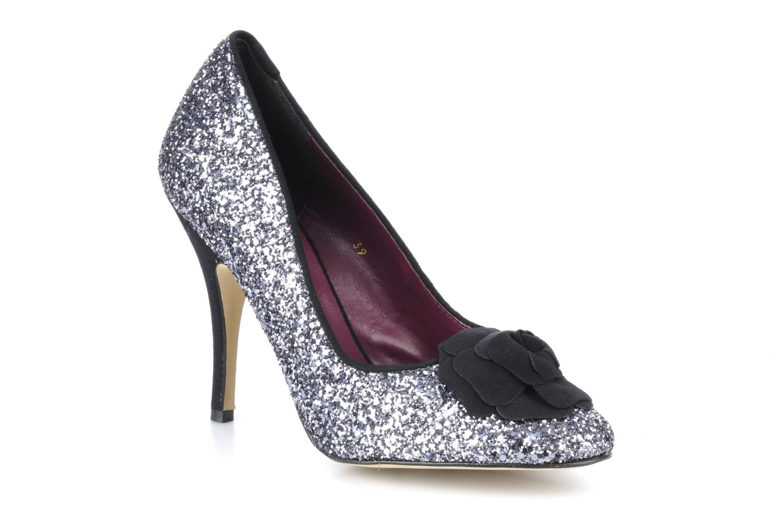 High heels Beyond Skin SWEETIE Silver detailed view/ Pair view