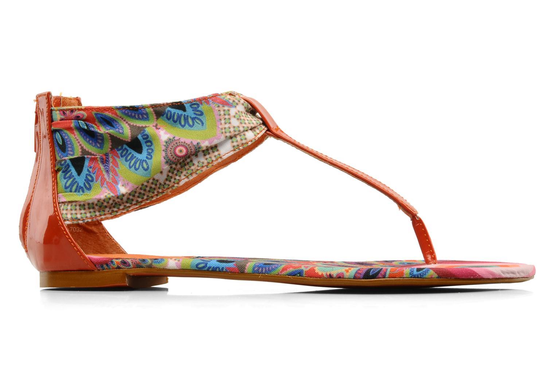 Sandales et nu-pieds Desigual Aolani Orange vue derrière