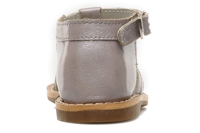 Sandali e scarpe aperte Aster VIGNETTE Viola immagine destra