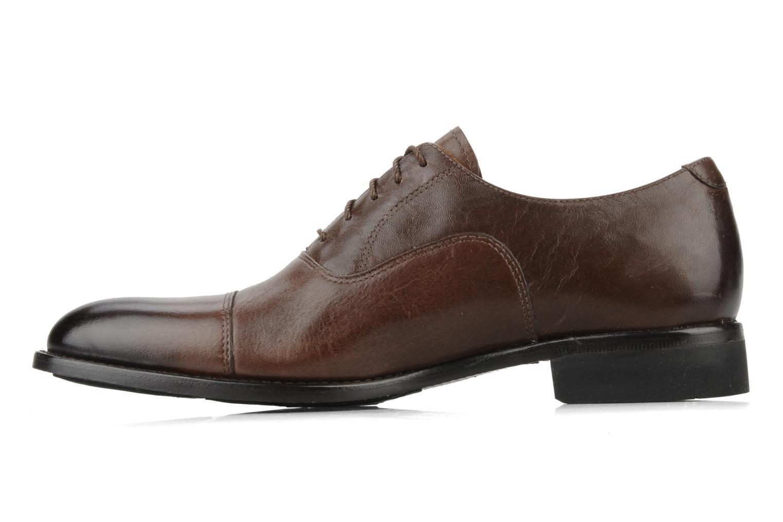 Chaussures à lacets Timberland CA Auburn Cap Marron vue face